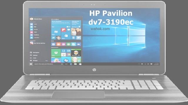 Download Driver HP Pavilion dv7-3190ec Entertainment Notebook Windows 7