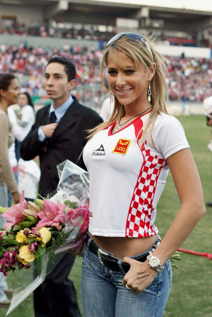 Ines sainz ass gallery, beauti modal free prone picture