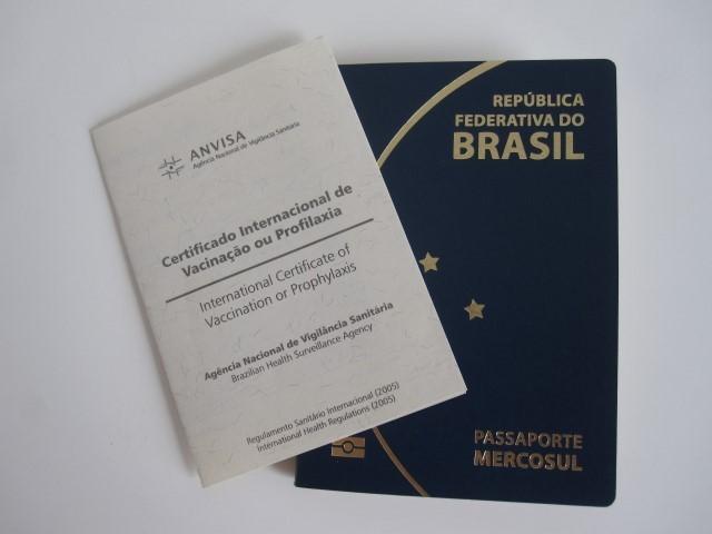 Certificado Internacional de Vacinação no Brasil