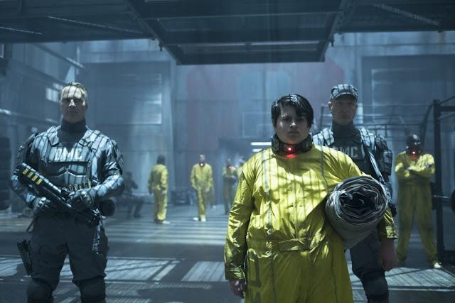 Russell alias Firefist (Julian Dennison) dans Deadpool 2, réalisé par David Leitch (2018)