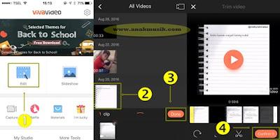 Cara Menggabungkan Video Dengan Musik MP3