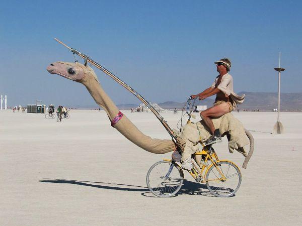 велосипед с прямой посадкой