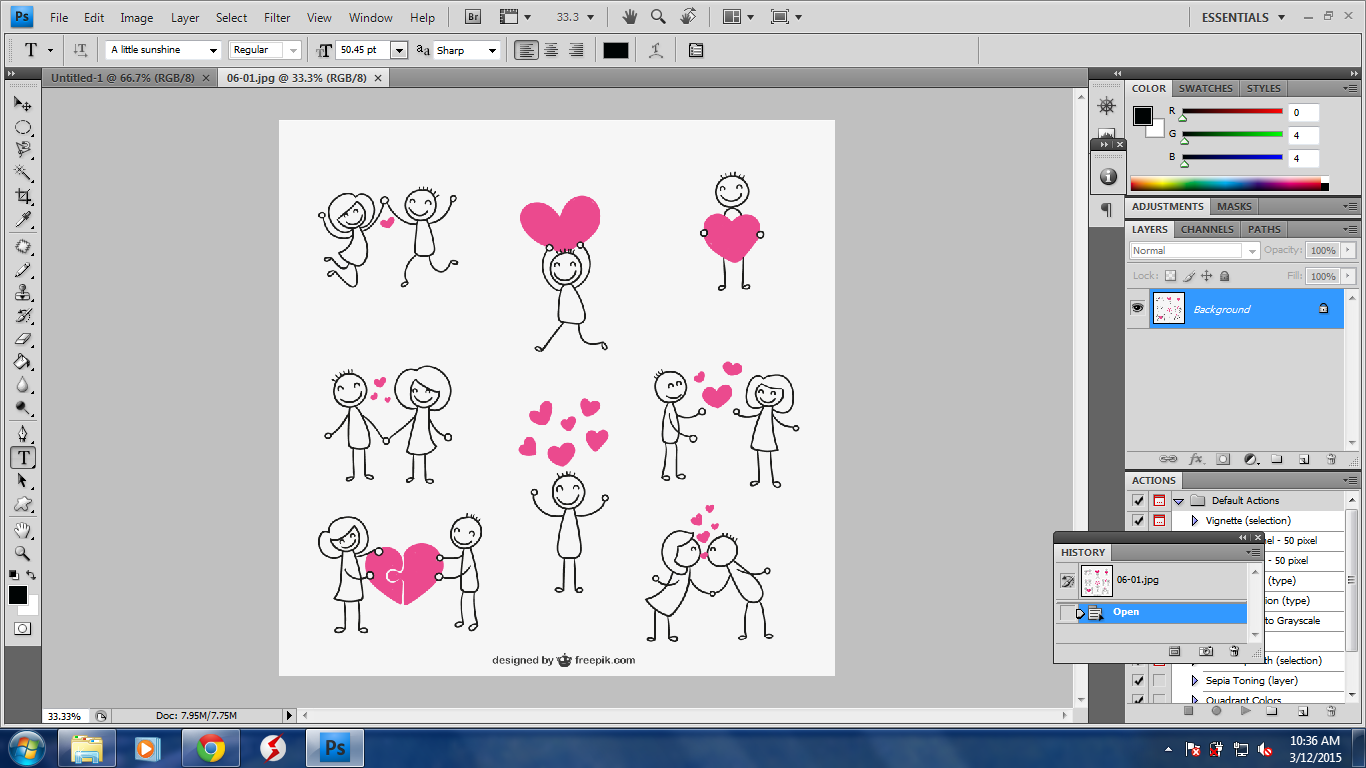 Tutorial Memotong Gambar Dengan Eraser Tool Pada Photoshop Cs4 Family Blogger Indonesia Telling About Daily Life And Family Journey