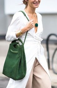 Cool Chic Style Fashion : the color green the zoe report + Adam Katz Sinding