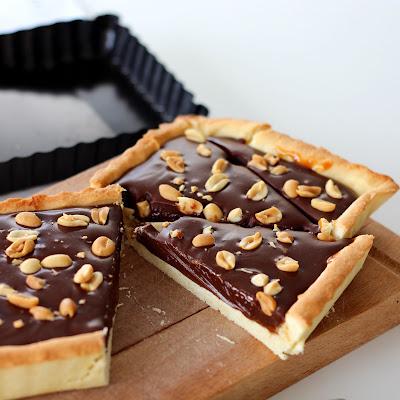 Illustration Tarte au Chocolat & Confiture de Lait