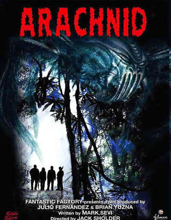 Poster Of Arachnid 2001 Dual Audio 720p HDRip [Hindi - English] ESubs Free Download Watch Online Worldfree4u