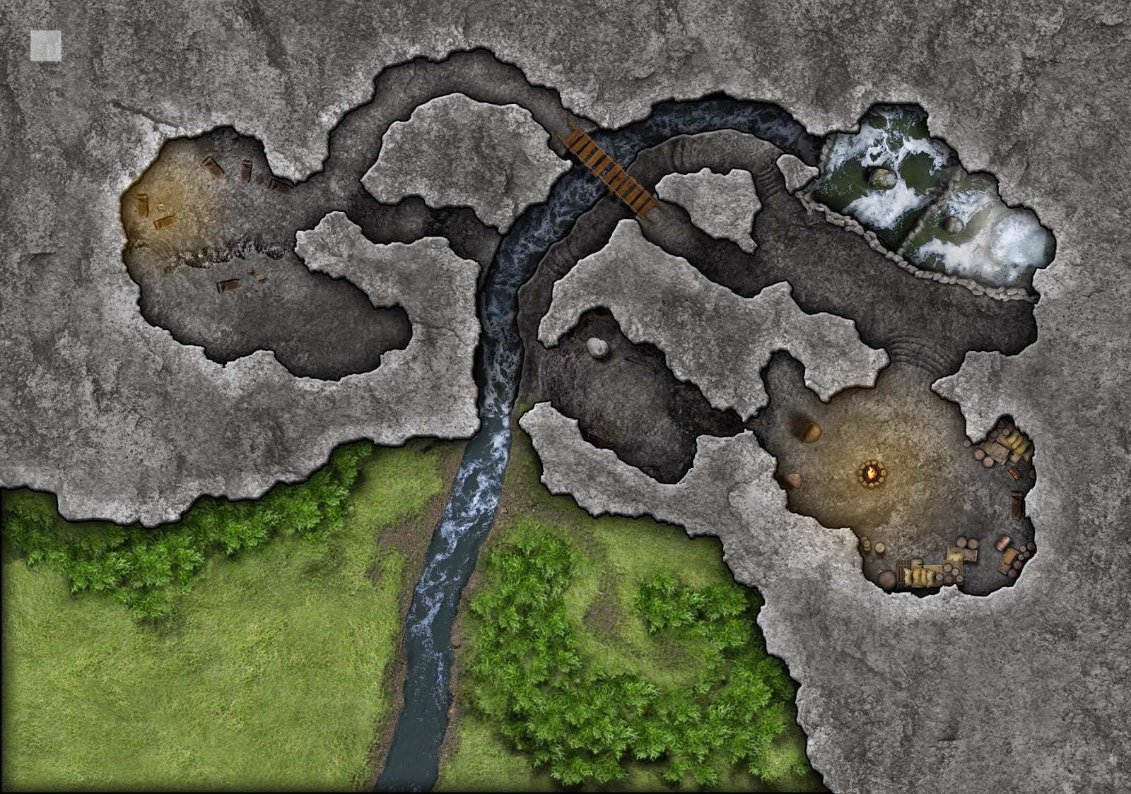 Community Made Lost Mine of Phandelver Maps ~ DnD Online