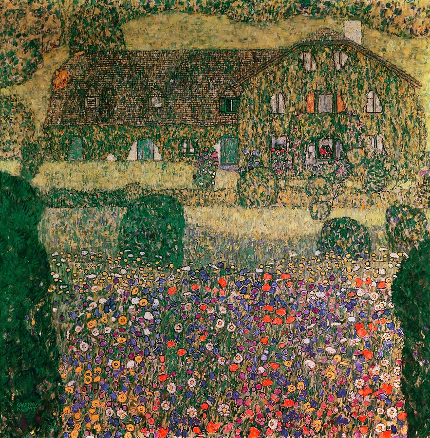 Landhaus Magazin Hellion Magazine Landhaus Am Attersee By Gustav Klimt 1914