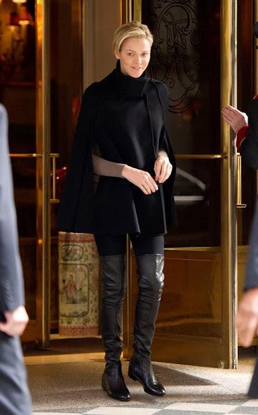 Princess Charlene in New York City