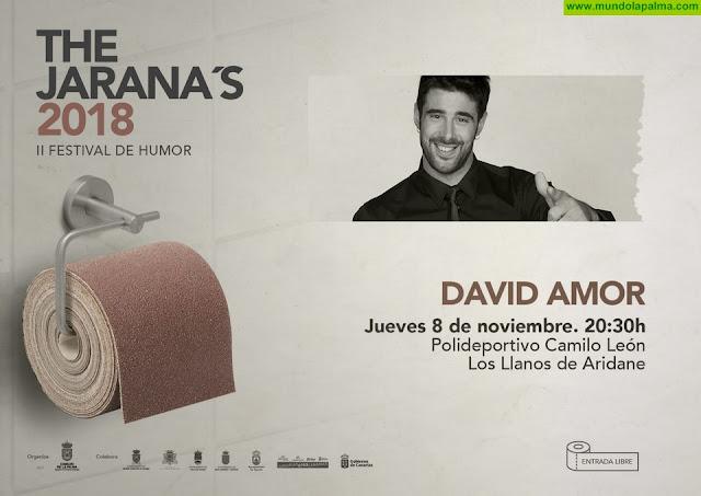 El festival de humor 'The Jarana's' presenta a David Amor en Los Llanos de Aridane