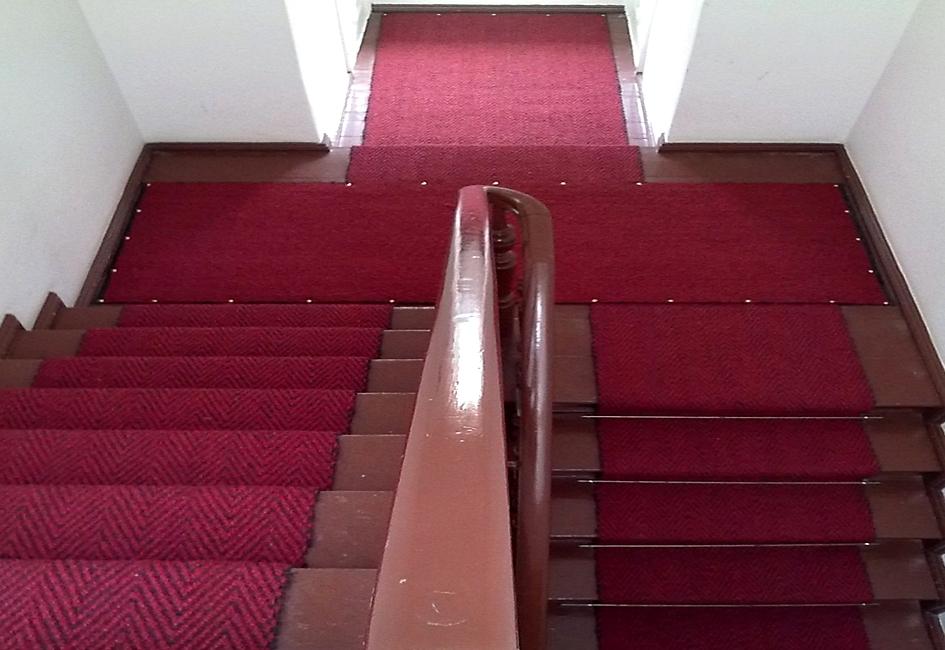 Teppichboden Berlin Der Fachhandel Treppenlaufer Aus Kokos Oder