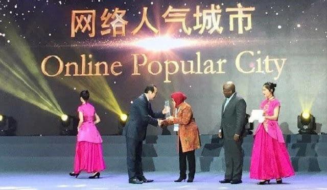 Surabaya Jadi Kota Terpopuler Secara Online The Guangzhou International Award 2018