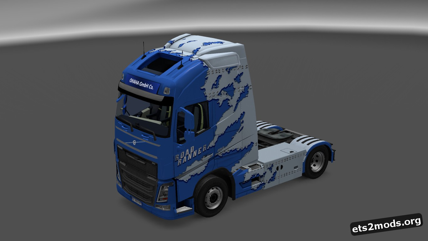 Volvo 2013 Road Runner Skin