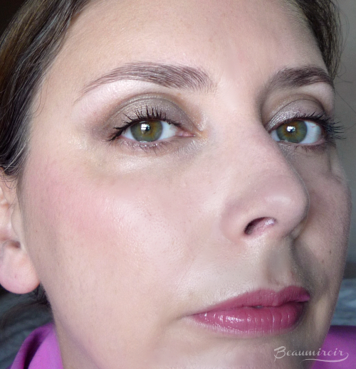 Dior Parisian Sky eyeshadow palette: eye look fotd motd makeup