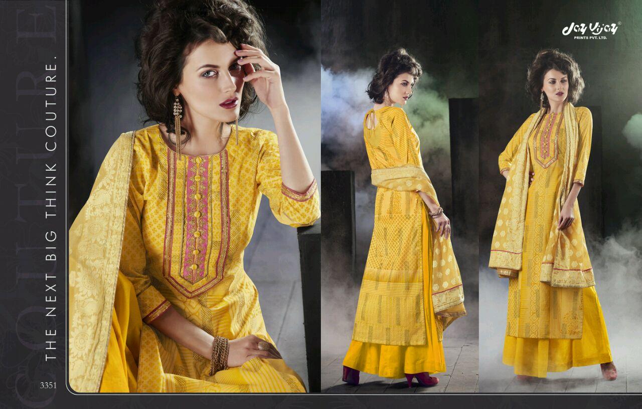 NAISHA-Designer Semi Stitched Cotton Salwar Suit With Cotton Dupatta