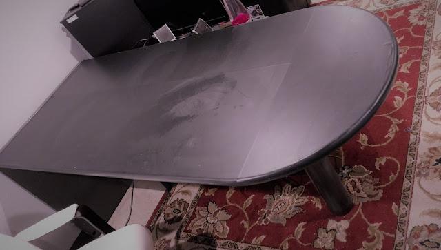 DIY Chalkboard Desk