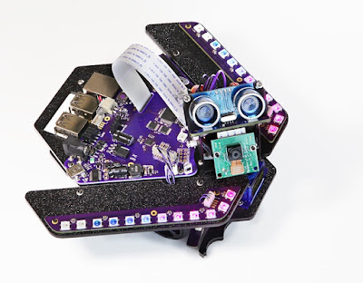 Learn Raspberry Pi and Arduino the fun with Spirit Rover