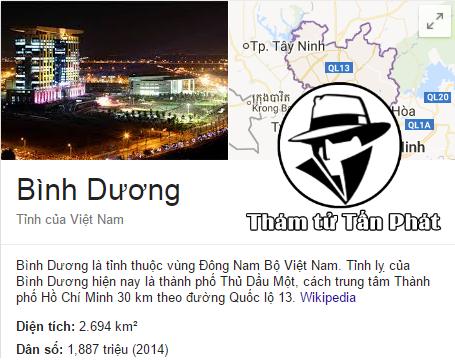 Dịch vụ thám tử Binh Dương