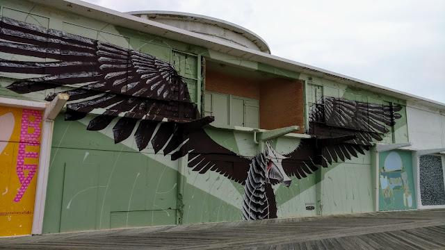 Мурал Майна Шайна у Есбері-Парк, Нью-Джерсі (Mural by Mike Shine, Asbury Park, NJ)