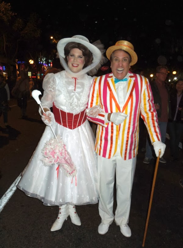 Mary Poppins Jolly Holiday costumes West Hollywood Halloween