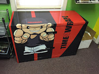 A Wrapped Filing Cabinet