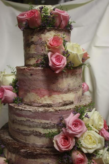 Naked Cake - Hochzeitstorte, wedding cake, Hochzeitsmotto aus M wird M, Pastell und Vintage im Riessersee Hotel Garmisch-Partenkirchen, Bayern