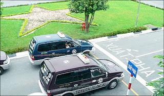 xe thi sát hạch trường dạy lái xe tiến bộ
