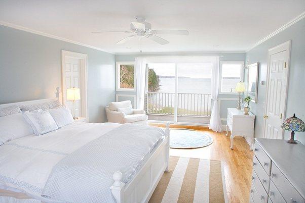 Ιδέες για λευκές κρεβατοκάμαρες