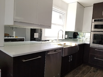 The Benefits of Mirrored Splashbacks