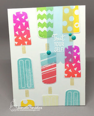 Party Pops | Newtons Nook Designs | Card Created by Danielle Pandeline