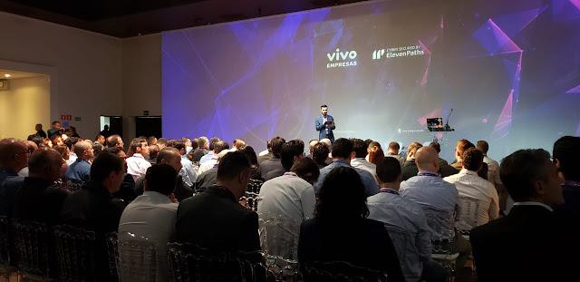 Vivo apresenta a ElevenPaths, unidade de cibersegurança do Grupo Telefónica imagem