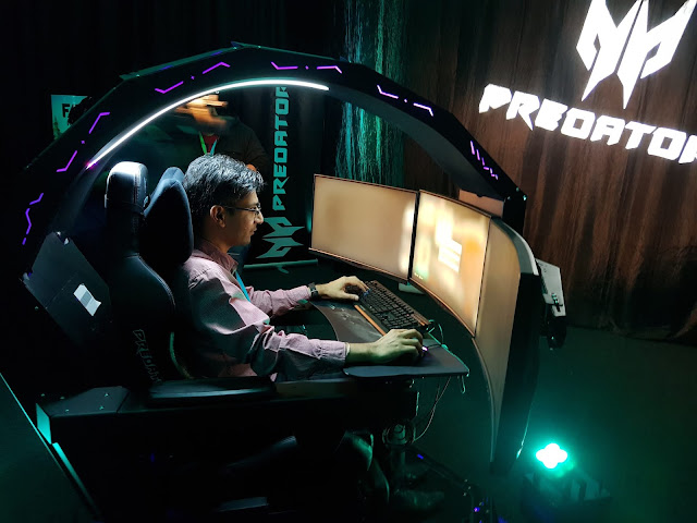 The concentration at its best - Aashish Rai Jain @AcerAfrica #PredatorThronos Gaming Chair