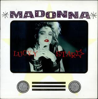Madonna - Lucky Star okładka singla