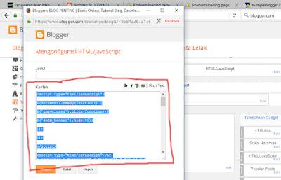 Form Konten HTML/Java Script