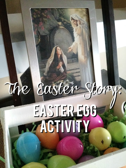 The Easter Story: Easter Egg Activity--a beautiful and simple way to tell the Easter story.  This will be a tradition your family will love for years to come.