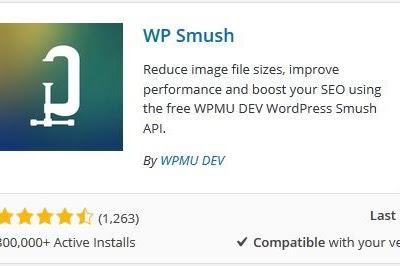 Kompres Ukuran Gambar Dengan WP Smush