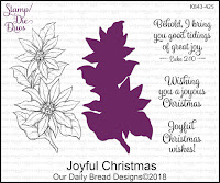 ODBD Joyful Christmas Stamp/Die Duos