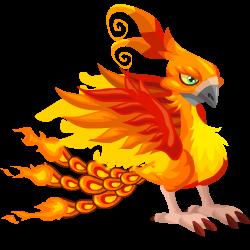 Das Erscheinen des Teenager Feuervogel-Drache