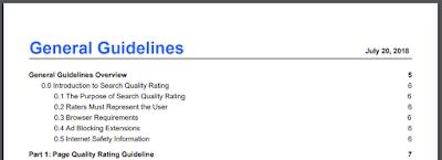 """Googles """"Quality Rater Guidelines"""" umfassen 164 Seiten."""