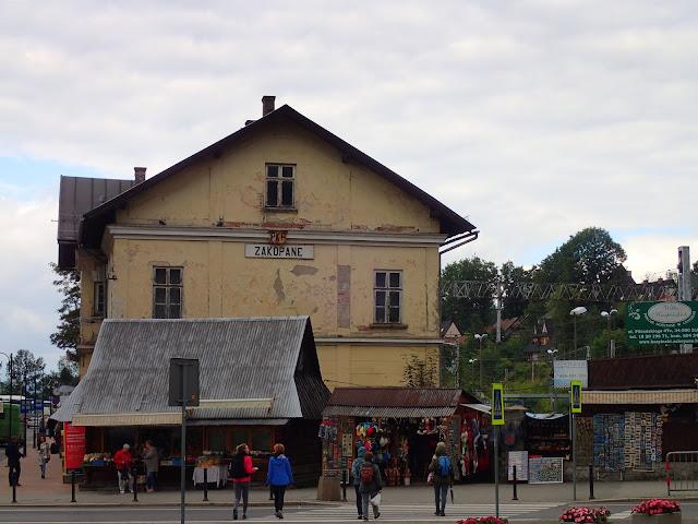 Dworzec w Zakopcu