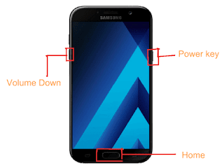 Samsung downloading mode