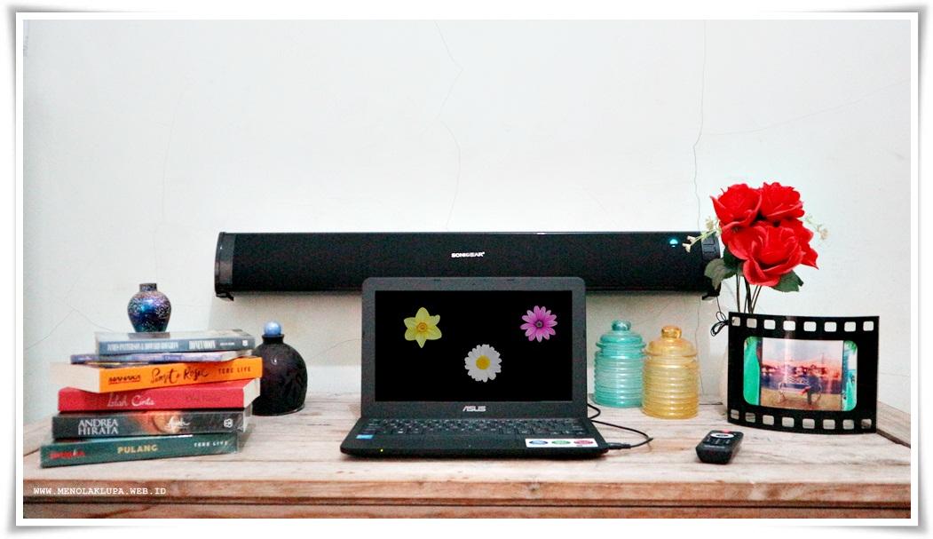 speaker Bagus harga terjangkau SonicBar 3000 BTMI