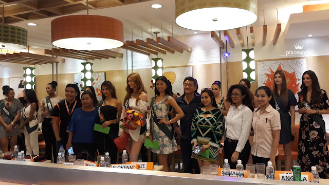 Guests and Media choice award goes to Ms. England, Ms. Japan and Ms. Hungary.