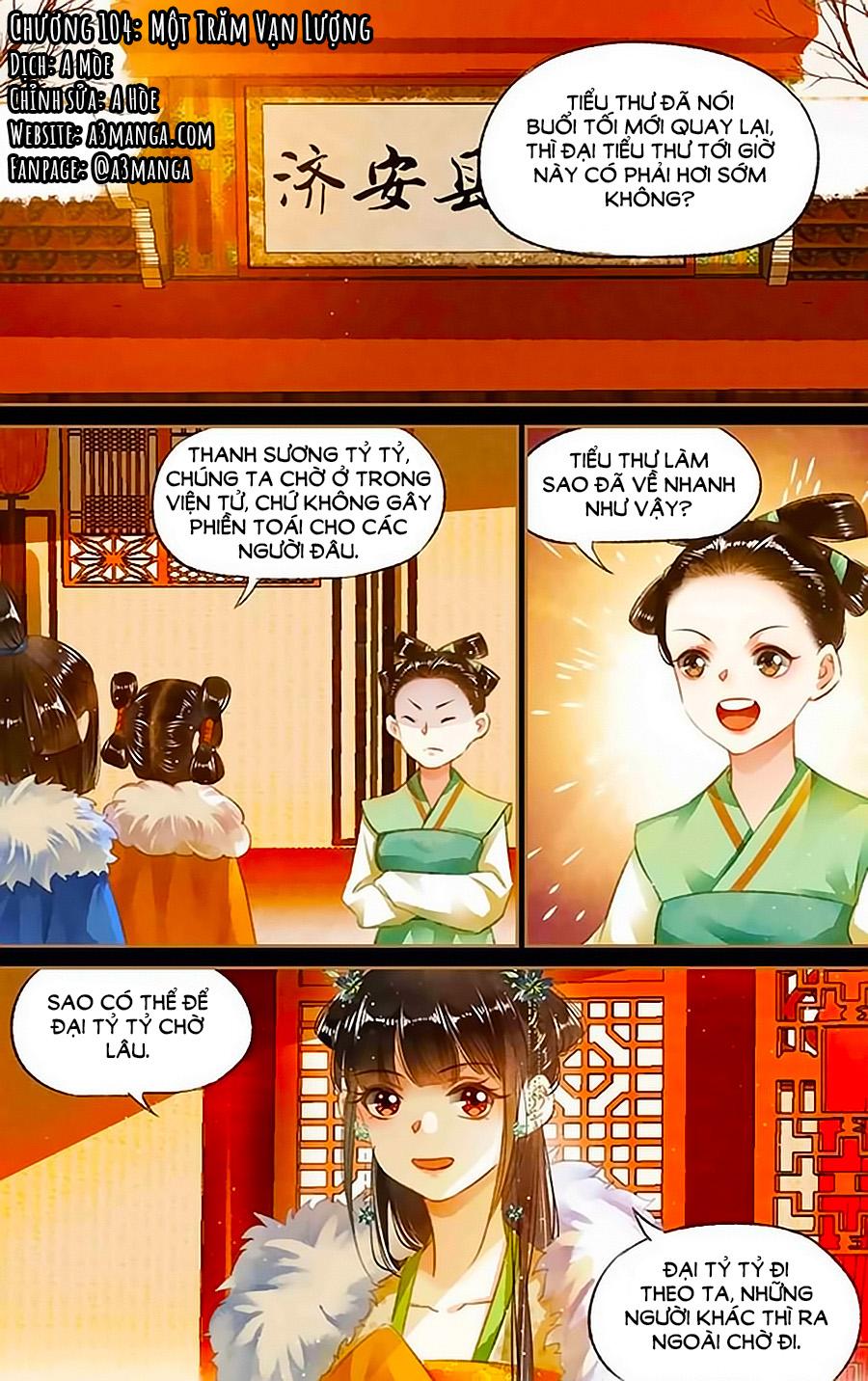 Thần Y Đích Nữ chap 104 - Trang 1