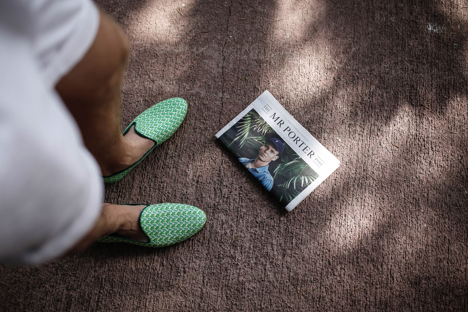 Green Turtle Galet Resort Loafers Mr Porter On The Road