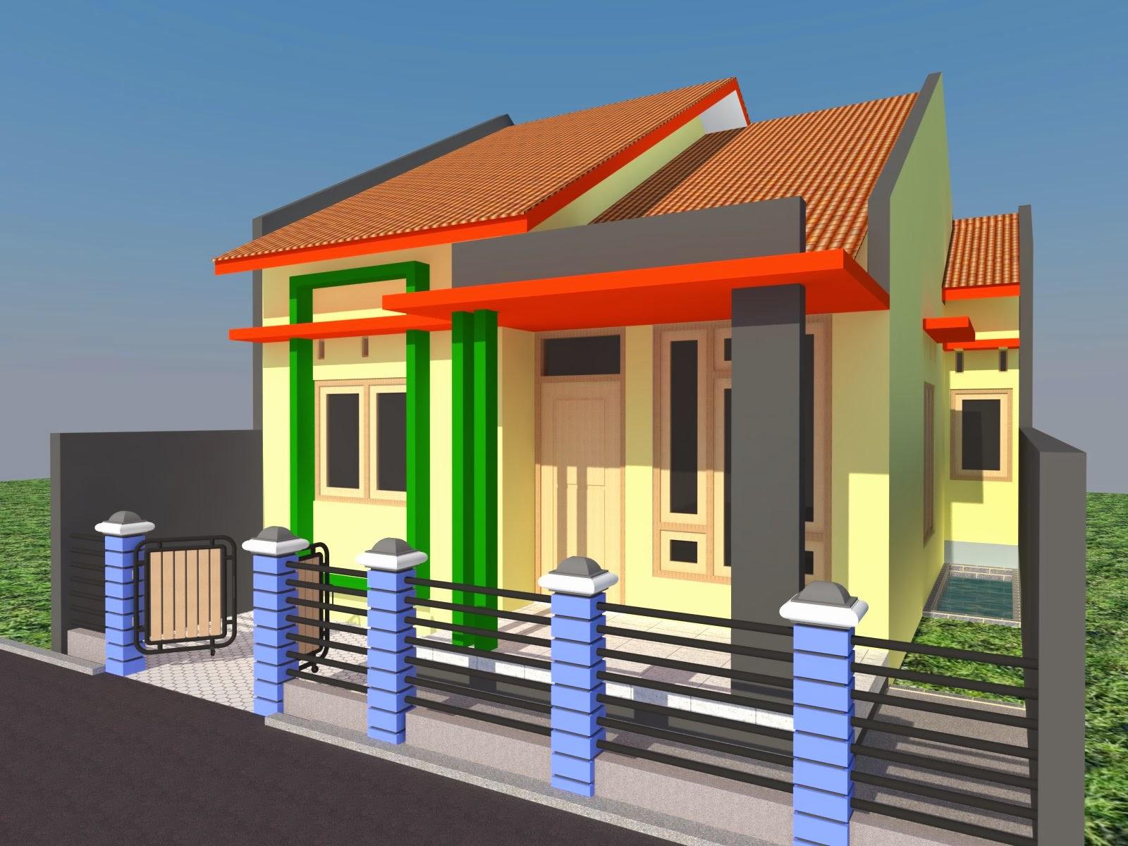 Desain Rumah Minimalis Type 54 2019 Rumah Minimalis