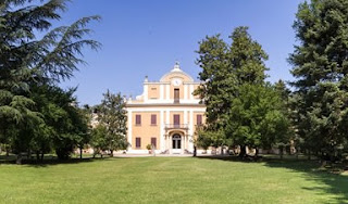The Villa Zarri, in Castel Maggiore, is now the home to a distillery producing some of Italy's finest brandy