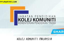 Jawatan Kosong di Kolej Komuniti Malaysia.