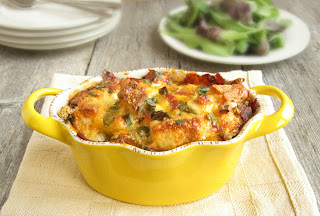 Bacon, Egg and Cheese Casserole