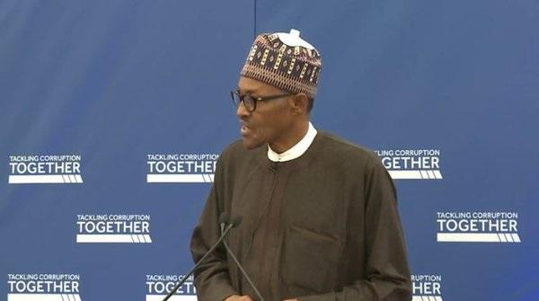 FULL TEXT: Buhari's address at the anti corruption summit in London